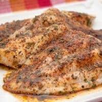 Baked Catfish