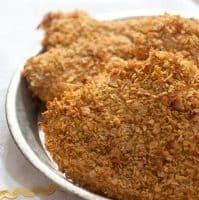 Skinny Fried Chicken from QVC's David Venable