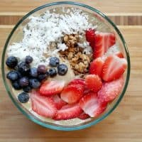Red, White and Blue Smoothie Bowl