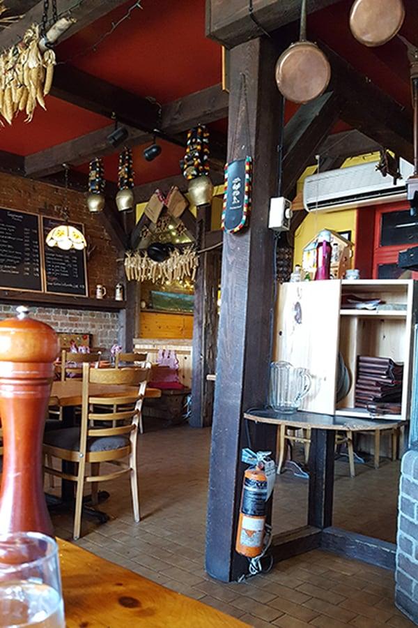 La Grolla Restaurant Interior