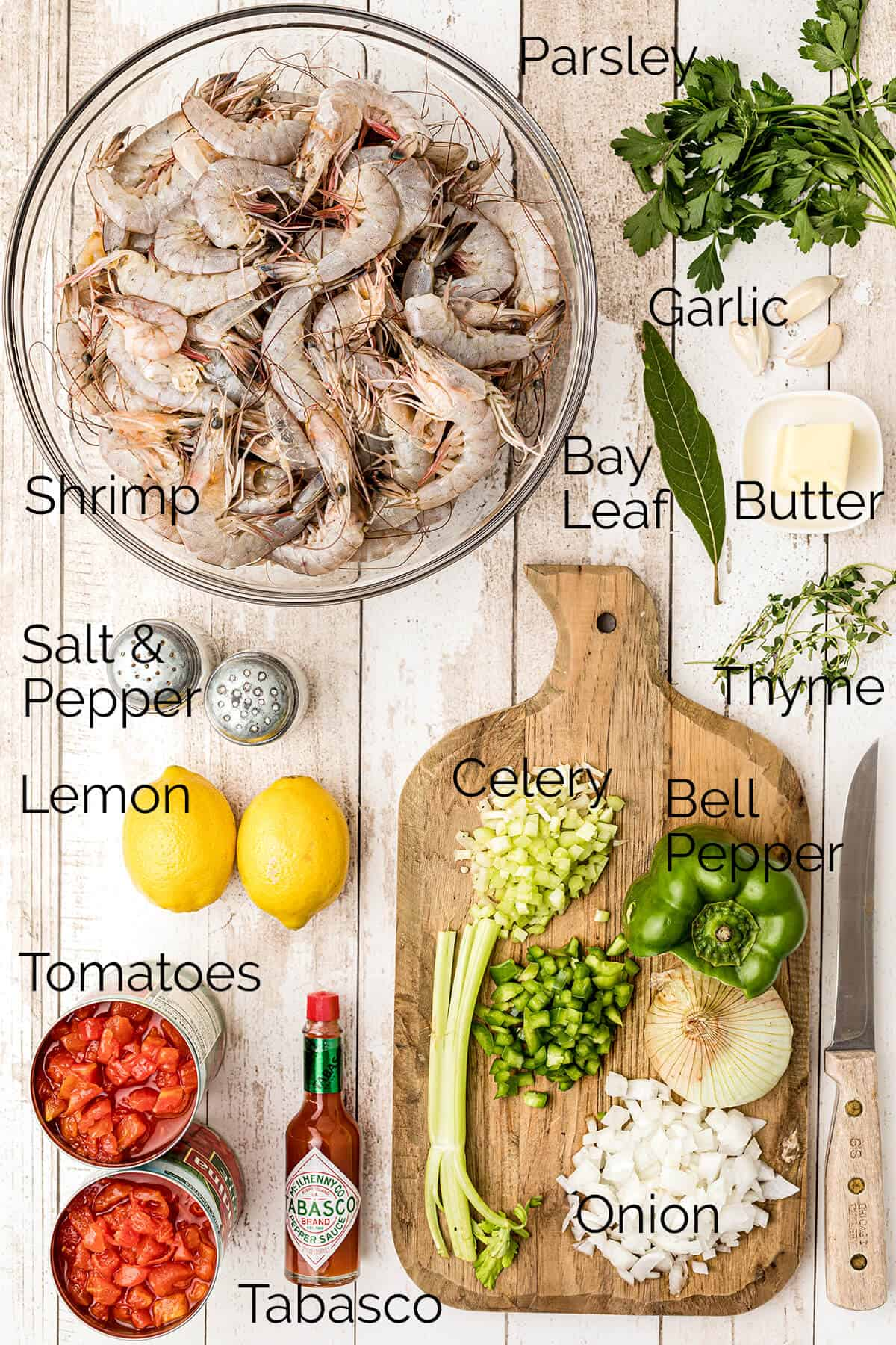 Photo showing all the ingredients needed for the recipe.