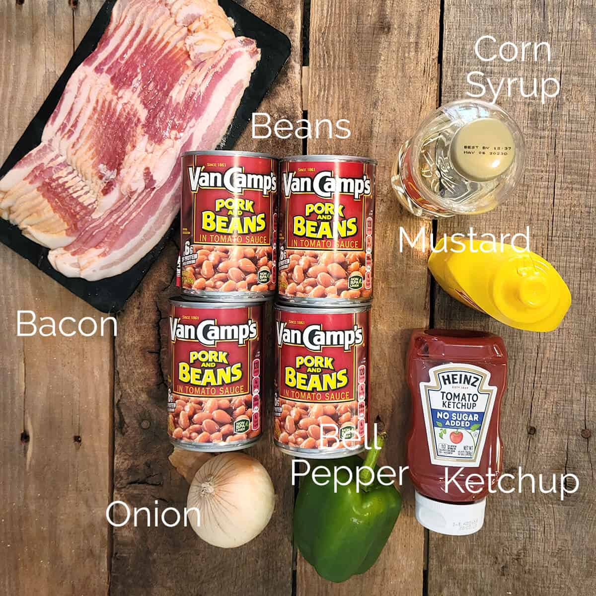 Photo showing all the ingredients needed to make the recipe.
