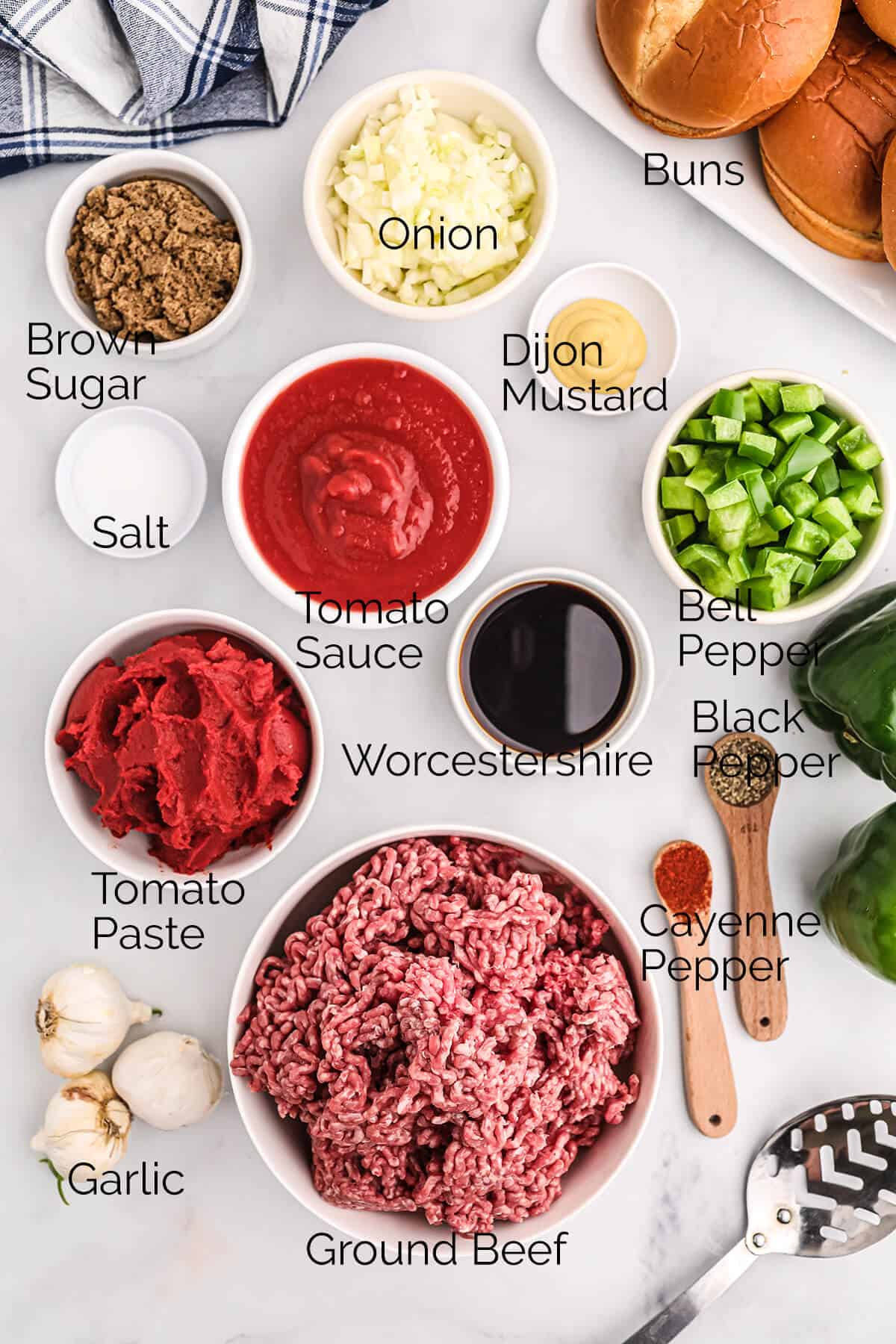 Photo of all the ingredients needed for the recipe.